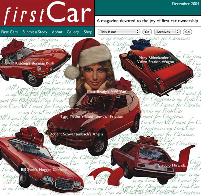 First Car December 2004 cover art