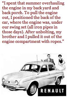 Adam Burlock's First Car