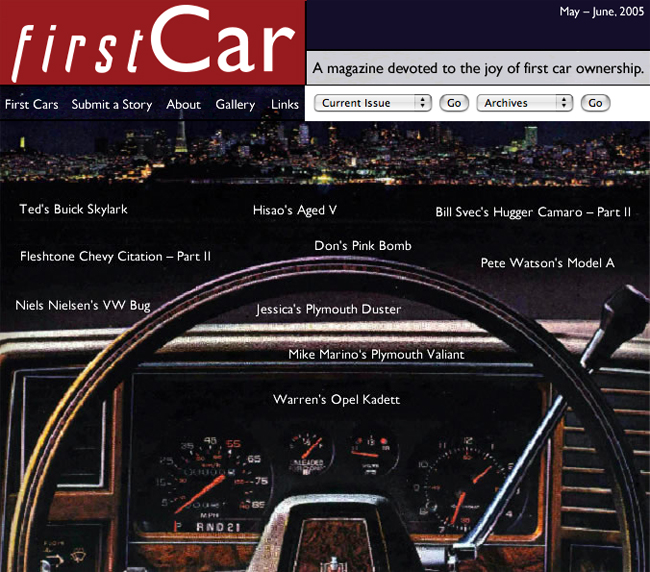 First Car Magazine - June 2005