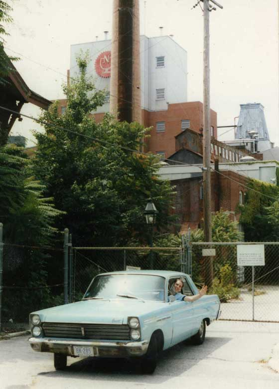 Marc Mazzarelli's first car