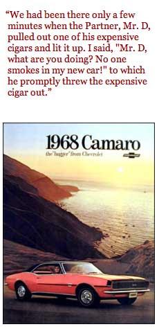 Bill Svec's Hugger Camaro