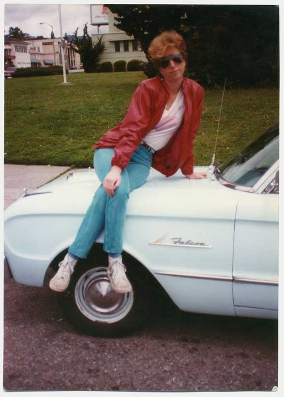 Lori Howes' first car was a Ford Falcon