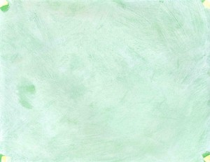 Green handpainted background