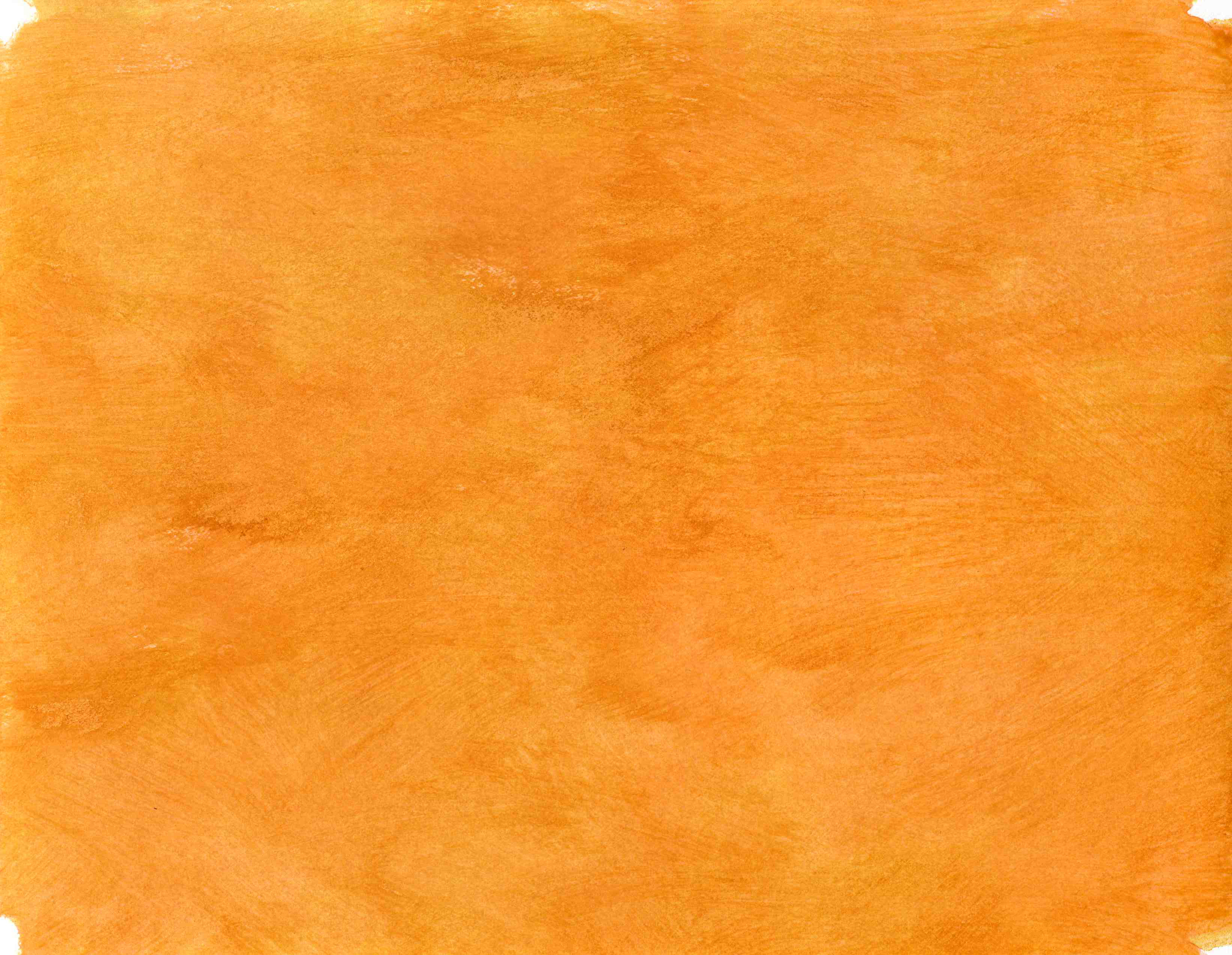 Bright Orange Color Names Handpainted Background Clipping File