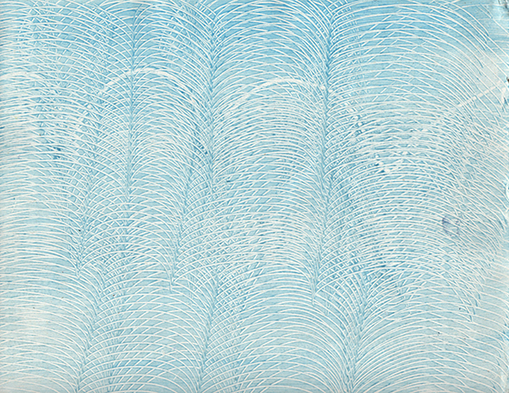 paste paper - light blue