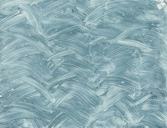 Blue swirly Paste paper